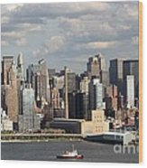 A New York City Afternoon Wood Print