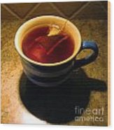 A Nice Cup Of Tea Wood Print