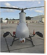 A Northrop Grumman Rq-8 Fire Scout Wood Print