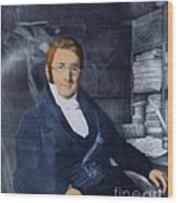 A. P. De Candolle, Swiss Botanist Wood Print
