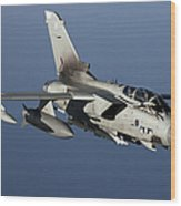 A Panavia Tornado Gr4 Of The Royal Air Wood Print by Gert Kromhout