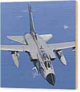 A Panavia Tornado Ids Of The Italian Wood Print