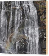 A Piece Of Whitewater Falls Wood Print