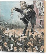 A Presidential Conjuror. Chester Wood Print