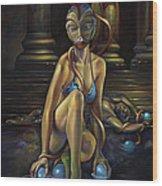 A Princess Of Mars Wood Print