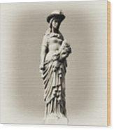 A Proper Woman Wood Print