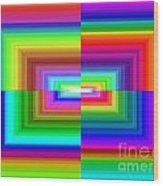 A Rainbow Is A Rainbow Is A Rainbow Wood Print