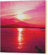 A Red Sea Wood Print