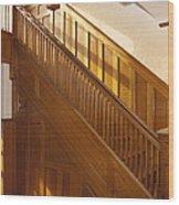 A Residential Building. An Oak Wood Print