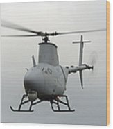 A Rq-8a Fire Scout Unmanned Aerial Wood Print