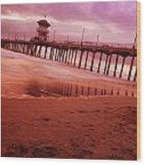 A Scenic Beach Wood Print