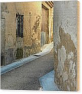 A Sidestreet In Provence Wood Print