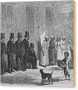 A Slave-pen At New Orleans Before Wood Print