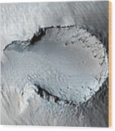A Small Cone On The Side Of One Of Mars Wood Print