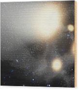A Smash-up Of Galaxies Wood Print