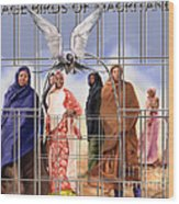 A Song For The Caged Birds Of Mauritania Wood Print
