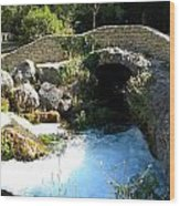 A Stream In Provence Wood Print