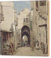 A Street In Jerusalem Wood Print