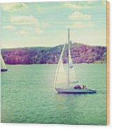A Summer Sailing Adventure Wood Print