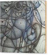 A Third Detail Wood Print