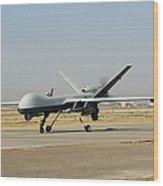 A U.s. Air Force Mq-9 Reaper Unmanned Wood Print