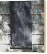 A Very Old Door Wood Print