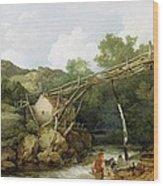 A View Near Matlock Wood Print
