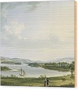 A View Of Knock Ninney And Part Of Lough Erne From Bellisle - County Fermanagh  Wood Print