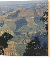 A View Of The Grand Canyon Wood Print