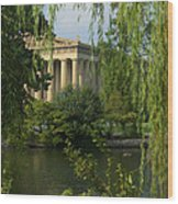 A View Of The Parthenon 3 Wood Print