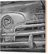 A Vintage Junk Plymouth Auto Wood Print