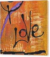 A Whirlwind Called Love Wood Print