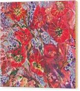 A Winter Healing Garden Wood Print