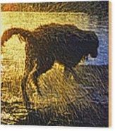 Aargh Wood Print