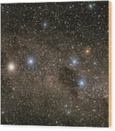 Ab Centauri Stars In The Southern Cross Wood Print