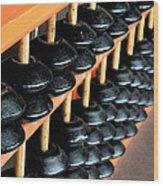 abacus III Wood Print