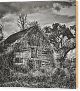 Abandoned Barn 2 Wood Print
