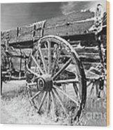 Farming Nostalgia Wood Print