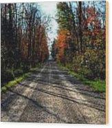 Abandoned Mile Drive Wood Print