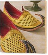 Abarian Shoes Wood Print
