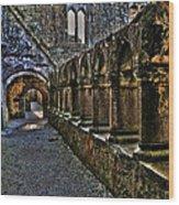 Abbey Corridor Wood Print