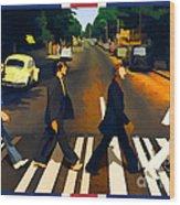 Abbey Road Wood Print