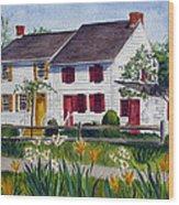 Abbott House Wood Print