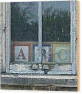 ABC Wood Print