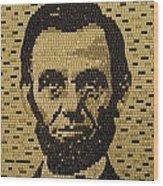 Abe Lincoln Wood Print