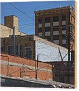 Abilene Rearview Wood Print
