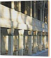Ablution Shadows Wood Print