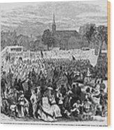 Abolition Of Slavery Wood Print