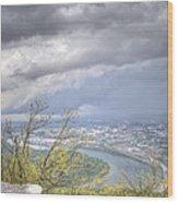 Above Chattanooga Wood Print