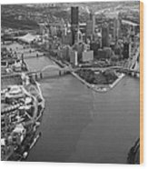 Above Pittsburgh  Wood Print